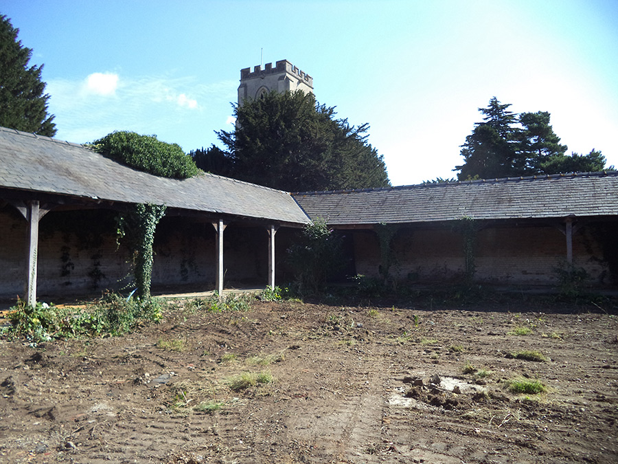 Anstey Hall Barns on Site 01