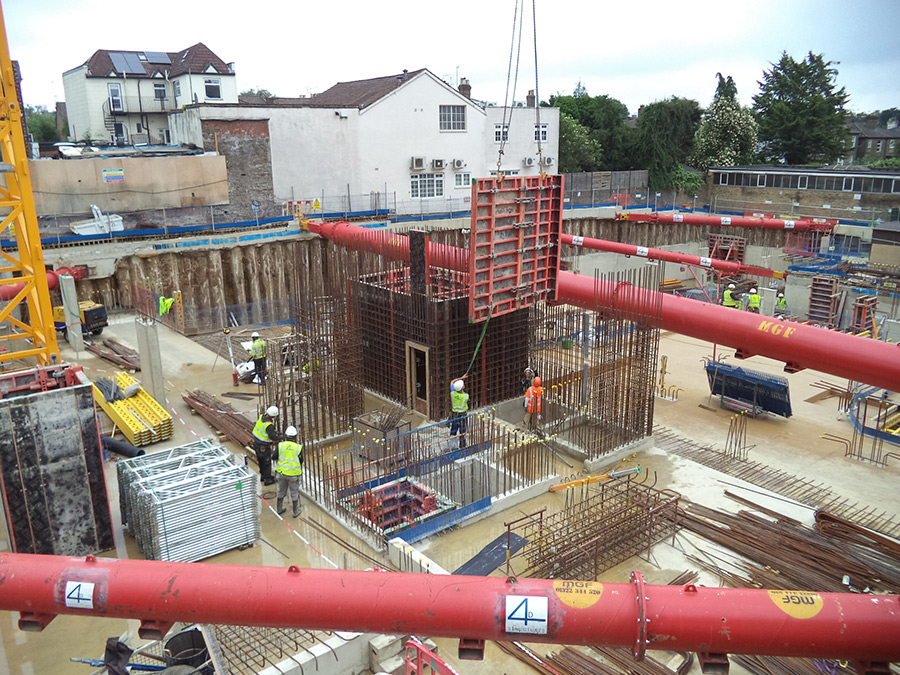 Gateway House Starts on Site 01