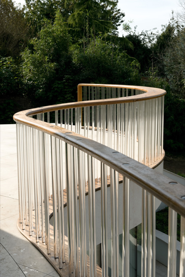 Pool House handrail