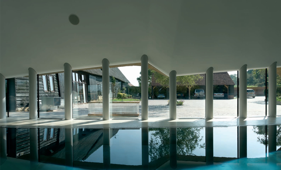Pool House interior 02
